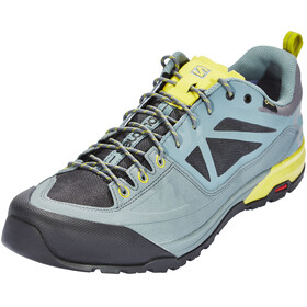 Salomon M's X Alp SPRY GTX Shoes Stormy Weather/Magnet/Citronelle